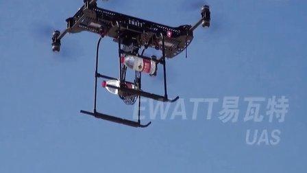 青海EWZS8八旋翼无人机试飞