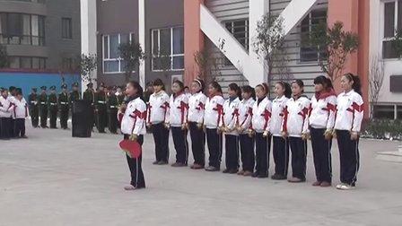 邢台市第十中学 20121224 升旗仪式