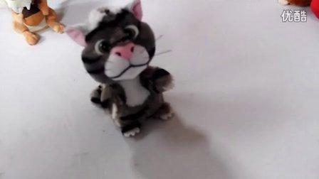 会学说话的龙猫 说话龙猫录音龙猫 会说话会变声电动毛绒玩具龙猫