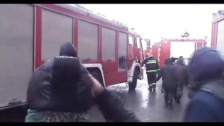 哈尔滨服装城着火7
