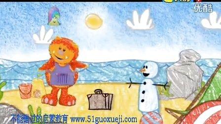 早教英语 幼儿英语 启蒙英语 英语动画片 Get_Squiggling!_-01_Snowman