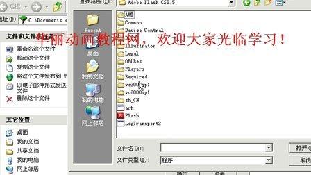 FLASH CS5动画教程 使用FLASH CS5.5自带的播放器