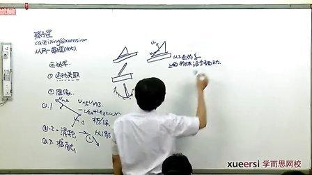 学而思高清 2013自主招生热点难点特训班(物理) 动关联、运动图像(2).mp4