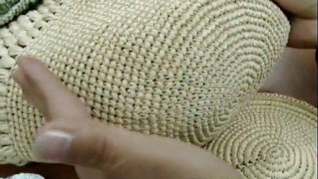 第22集 魅力牡丹包包 许红霞棉草拉菲钩编教学视频