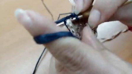 第28集 波纹潮品手提包 许红霞棉草拉菲钩编教学视频