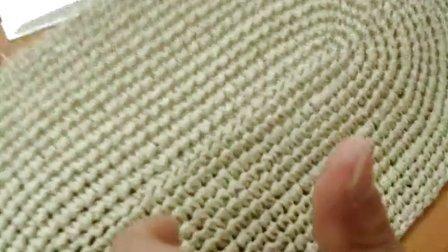 第48集 花儿朵朵妈妈草编包 许红霞棉草拉菲钩编教学视频