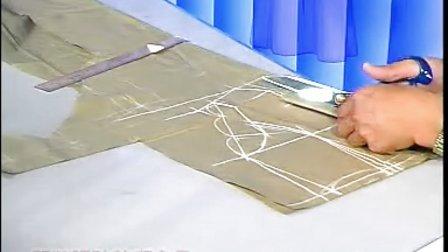 服装设计教程 服装裁剪教程-带帽披风的制作