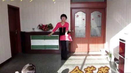 2012金芙蓉广场舞《快乐广场》附背面演示