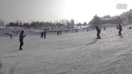 我风骚的滑雪过程~~~~~