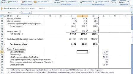 EXCEL公司估值与财务建模
