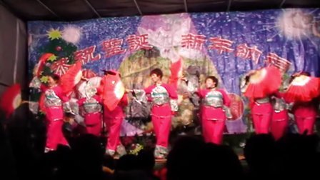 五府营堂区2012年圣诞节庆典上