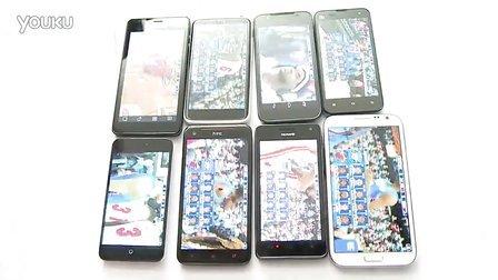 四核手机游戏载入对比