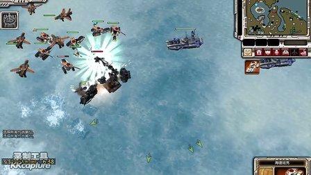 红色警戒3视频帝国战役 太平洋-突袭玄武
