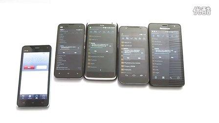 四核手机压缩对比