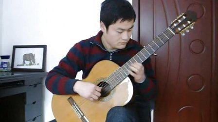 钟声 古典吉他独奏 潍坊朋客吉他 培训 教学