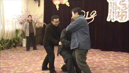 2013年元月拳友新年聚会推手演示