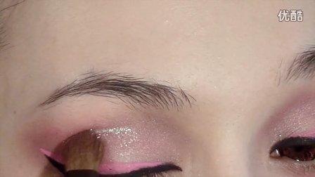 WINNY的粉色情人节妆容