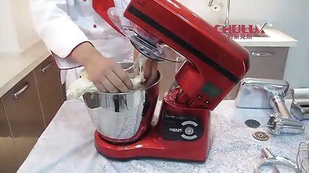 厨莱克斯,和面机,面条机,智能厨师机操作演示