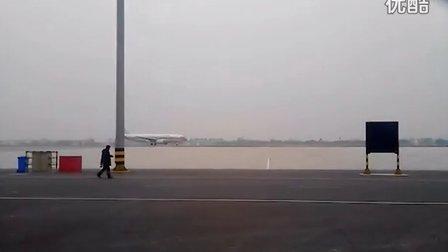 常州奔牛机场东航空客A320起飞