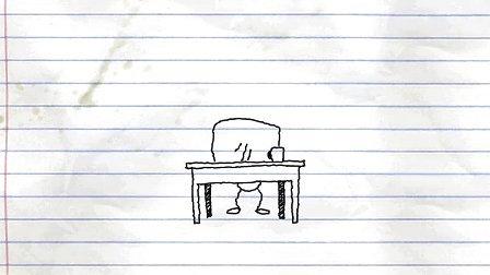 铅笔涂鸦创意动画9