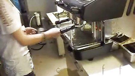 文咖啡wencoffee成都半自动咖啡机使用方法培训-下集