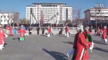 青龙满族自治县喜迎秧歌表演(2)
