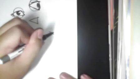 How to Draw Manga 漫畫教學 人物側面畫法1