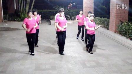 厦门湖里梅梅广场舞-美了美了(的士高16步)