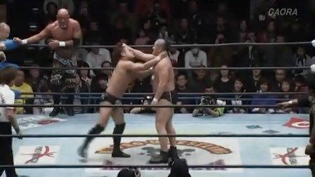 2013.01.02 太陽ケア&鈴木みのる&MAZADA vs 武藤&カズ&渕正信