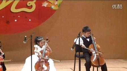大提琴齐奏《告诉罗娣阿姨》