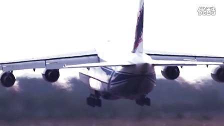 AN-124 Ruslan freighter. Promo video