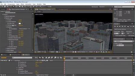 大都市&摩天楼_Metropolitan Pack – 3D City & SkyCraper Pack教程.mp4