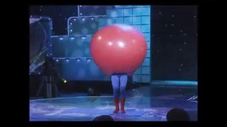 易术大气球气球秀气球舞创意节目创新表演河北卫视