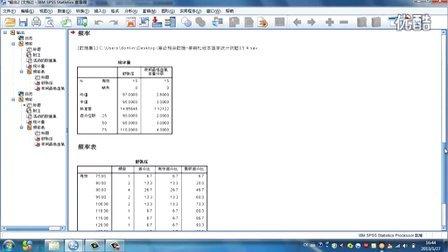 SPSS 统计量运算