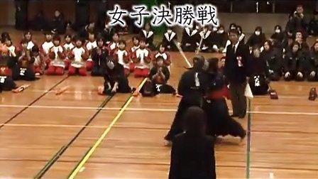 剑道 高校選抜大会県予選会 女子决胜