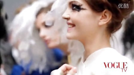 [VOGUE TV]Chanel 2013高级定制后台精美花絮