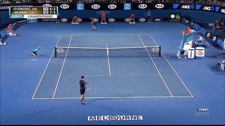 德约科维奇N.Djokovic vs 穆雷A.Murray 2013年澳网男单决赛