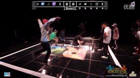 韩国R16街舞大赛bboy强队之间的较量
