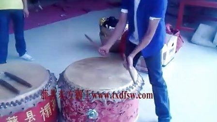 專業舞獅表演-廣西梧州藤縣獅隊之七星鼓打法
