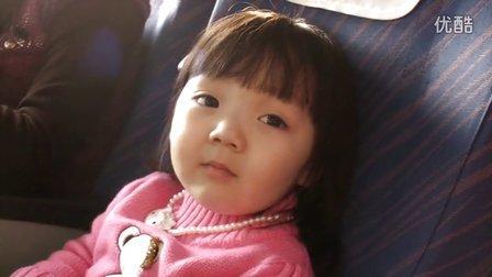 小萝莉彤彤第一次坐飞机  超萌小彤宝