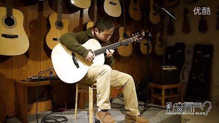 沁音原声吉他新店开业聚会视频3,琴友夜半琴声翻弹岸部