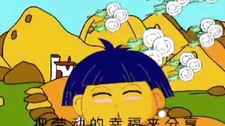 采蘑菇的小姑娘-儿童歌曲 幼儿教育-带拼音歌词