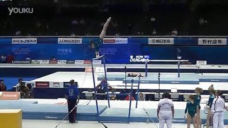 Viktoria Komova UB-1 PT Worlds 2011 Tokyo