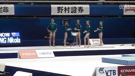Yulia Belokobylskaya VT-2 PT Worlds 2011 Tokyo