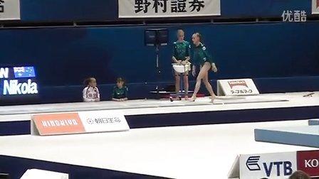 Yulia Belokobylskaya VT-4 PT Worlds 2011 Tokyo
