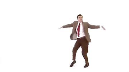 憨豆先生搞笑舞蹈