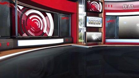 虚拟演播室场景视频