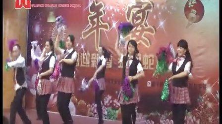 广西华南烹饪学校年宴舞蹈《甩葱舞》