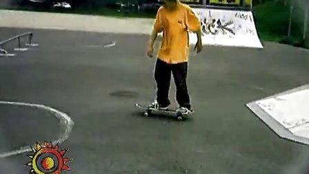 某滑板大仙 各种 怪招 在 2004-2007