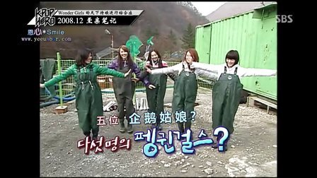 130110.SBS Star Documentary K-POP HERO.Wonder Girls篇[中字]